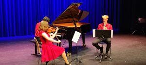 Trio Prima Vista: Erna Heymann, Judit Visegrádi en Tijmen Weijermars