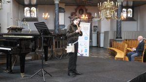 Christiaan Blom (1e prijs Categorie A 8 t/m 12 jaar en Hoofdprijs Jong Talent Concours Maassluis)