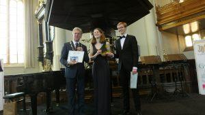 Categorie A 16 t/m 18 jaar winnaars van de 2e prijs ex aequo: Rosa Ligtermoet en Tijmen Weijermars