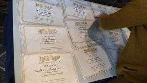 Certificaten Jong Talent Concours 2020